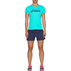"asics Silver 4"" Shorts Women peacoat"